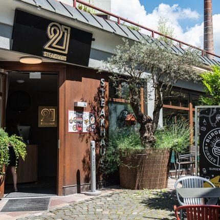 21 Steakhaus – Eingang